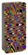 Jancart Drawing Abstract #8455ws Portable Battery Charger