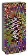 Jancart Drawing Abstract #8455wt Portable Battery Charger