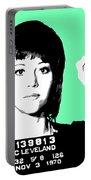 Jane Fonda Mug Shot - Mint Portable Battery Charger