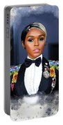 Janelle Monae Portable Battery Charger