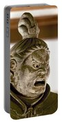 Japan: Warrior Statue Portable Battery Charger