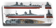 Japanese Battleship Ise Portable Battery Charger