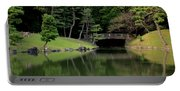 Japanese Garden Bridge Reflection Portable Battery Charger