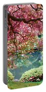Japanese Burgundy Maple Tree Portable Battery Charger