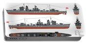 Japanese Destroyer Fubuki Portable Battery Charger