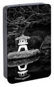 Japanese Garden Reflection Portable Battery Charger