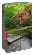 Japanese Garden Strolling Stone Path Portable Battery Charger