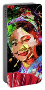 Japanese Geisha Colored Portable Battery Charger