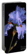 Japanese Iris-blue Beauty Portable Battery Charger
