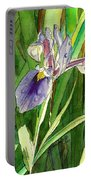 Japanese Iris Portable Battery Charger
