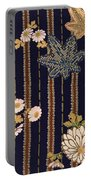 Japanese Maple And Chrysanthemum Modern Interior Art Painting. Portable Battery Charger