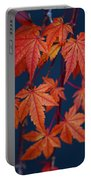 Japanese Maple Leaves In Autumn Portable Battery Charger
