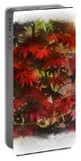 Japanese Maple Under The Willow Portable Battery Charger