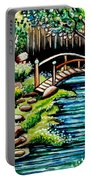 Japanese Tea Gardens Portable Battery Charger