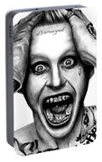 Jared Leto As The Joker Portable Battery Charger