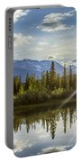 Jasper Glory Rocky Mountain View Portable Battery Charger