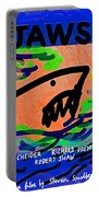 Jaws Poster  Portable Battery Charger