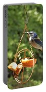 Jay At Feeder Portable Battery Charger