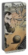 Jay Gould Cartoon, 1882 Portable Battery Charger