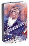 Jazz B B King 05 Red Portable Battery Charger