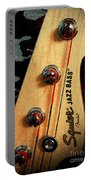 Jazz Bass Headstock Portable Battery Charger