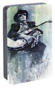 Jazz Bluesman John Lee Hooker 04 Portable Battery Charger