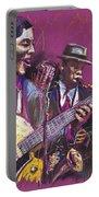 Jazz Guitarist Duet Portable Battery Charger