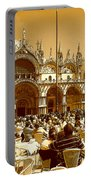 Jazz In Piazza San Marco Portable Battery Charger