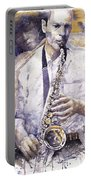 Jazz Muza Saxophon Portable Battery Charger