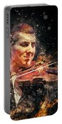 Jazz Violin Player Portable Battery Charger