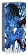 Jd And Leo- Inverted Ice Blue Portable Battery Charger