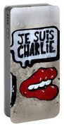 Je Suis Charlie Portable Battery Charger