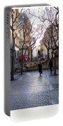 Jean Beauvais Paris Couple Walking Portable Battery Charger