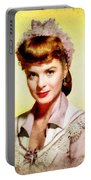 Jean Peters, Vintage Actress Portable Battery Charger