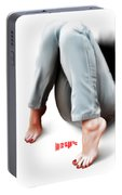 Jeans And Toes Portable Battery Charger