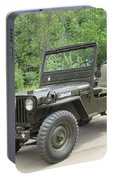 Jeep At Hydes Creek Portable Battery Charger