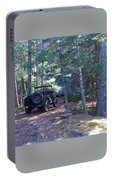 Jeep At Tin Camp Portable Battery Charger