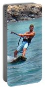 Jeff Kite Surfer Portable Battery Charger