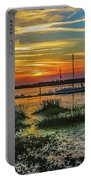 Jekyl Island Sunset Portable Battery Charger