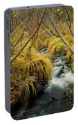 Jenny Creek In Autumn Portable Battery Charger