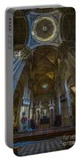 Jerez De La Frontera Cathedral Dome From Inside Cadiz Spain Portable Battery Charger