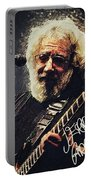 Jerry Garcia Portable Battery Charger