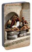 Jerusalem - Bread Seller Portable Battery Charger
