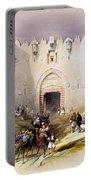 Jerusalem Gate Portable Battery Charger