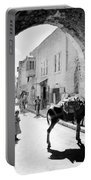 Jerusalem Street In 1914 Portable Battery Charger