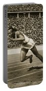 Jesse Owens Portable Battery Charger