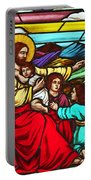 Jesus And Children Portable Battery Charger