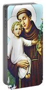 Jesus And Saint Anthony Portable Battery Charger