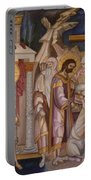 Jesus Arrest And Preparation For Crucifiction Portable Battery Charger