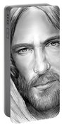 Jesus Face Portable Battery Charger
